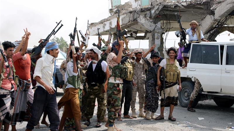 Southern separatist fighters have made gains in controlling Aden in recent months with the help of the UAE