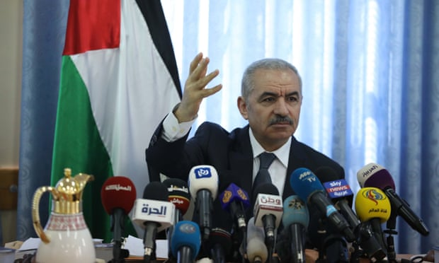 Palestinian prime minister Mohammad Shtayyeh says neither candidate has an agenda to end the occupation'.
