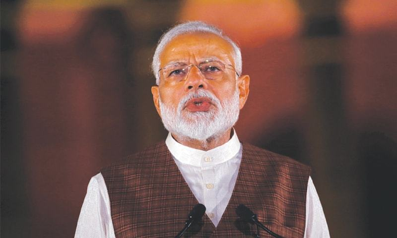 The Indian government has formally submitted a request for Prime Minister Narendra Modi to use Pakistani airspace for his flight to the United States, diplomatic sources said on Wednesday.