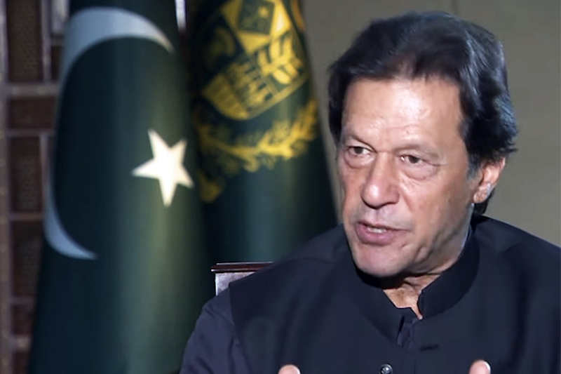 PM Imran says some countries look India as a market of 1bn people, they don't realise consequences of not intervening right now.