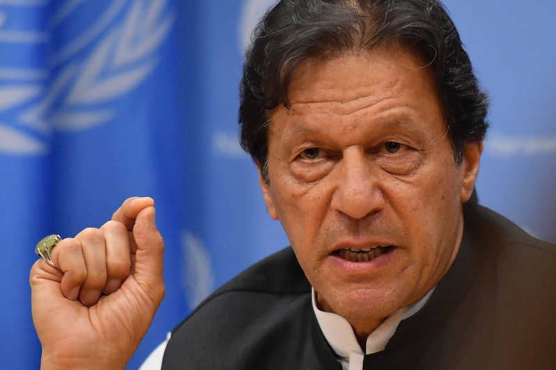 Pakistani Prime Minister Imran Khan bluntly warned that war was possible over India's crackdown in the disputed Himalayan region of Kashmir, while U.S.