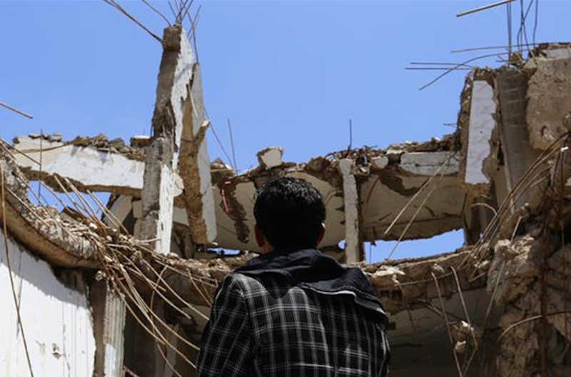 Attacks come four days after Houthi rebels said they would stop missile and drone attacks on Saudi Arabia