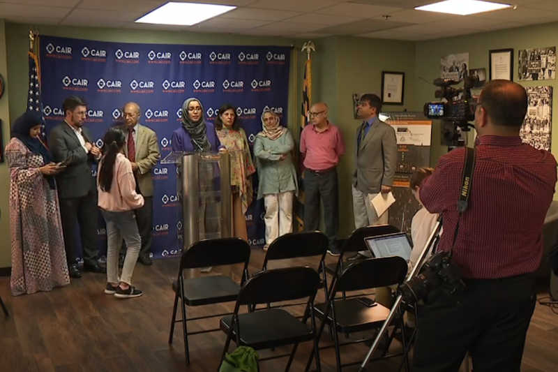 Local Muslim leaders call on MD elected officials to take action on the Kashmir crisis