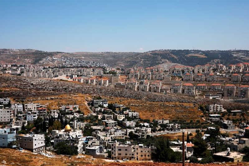 More than 600,000 Israelis live in illegal settlements in the occupied West Bank, including occupied East Jerusalem