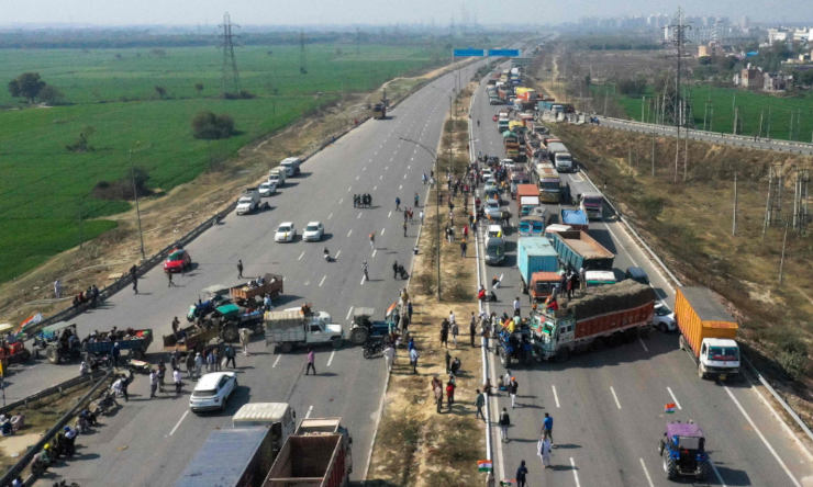 India Almost Paralyzed Due to Farm Protests