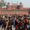 India Cuts Internet Around New Delhi As Protesting Farmers Clash With Police